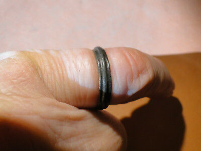 Beautiful Banded Ancient Celtic Bronze Ring, found in Wales by Metal Detectorist