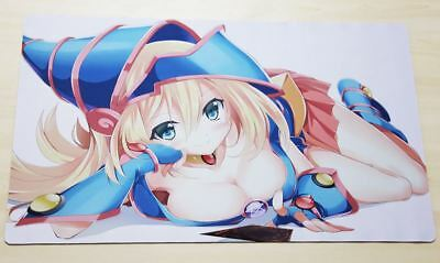 B095 Free Mat Bag YUGIOH Dark Magician Girl TCG Playmat Deck Mat Anime Playmat