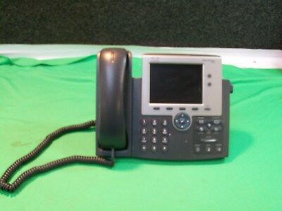 Cisco CP-7945G 2-Line Unified VoIP IP Color Display Business Phone W/HANDSET