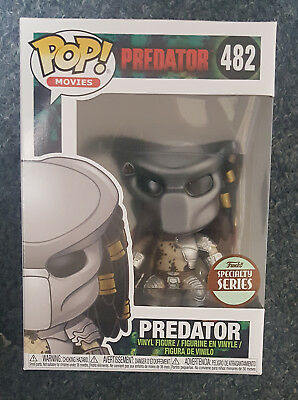 Funko Pop Predator Specialty Series Exclusive Mint Condition
