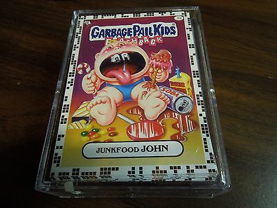 2011  11 Garbage Pail Kids GPK FB  Flashback 2 Complete WHITE Set 80 a cards