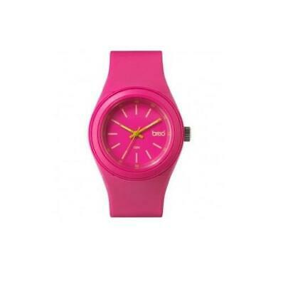 BREO Zen Pink and Lime Green PU Watch BR-ZN-PK
