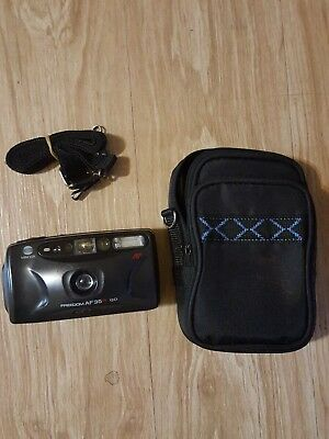 Minolta Freedom 35AFQD 35MM Camera strap case and Film