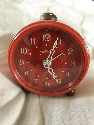 Vintage German Goldbuhl Alarm Clock