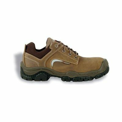 """Cofra 31100-000.W43 Size 43 S3 SRC """"Grenoble"""" Safety Shoes - Brown"""