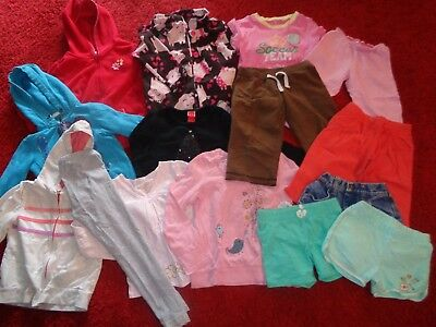 Huge Lot Of Girls Clothes Old Navy Childrens Place Outfits Wardrobe Size 4T 4/5