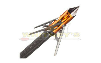 Rage Chisel Tip SC 3 Blade Crossbow Broad head 100 gr 1.6 in cut