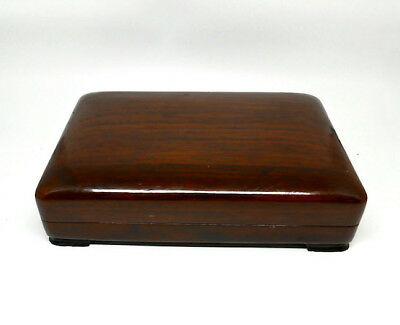 Vintage Chinese Dark Rose Wood Box