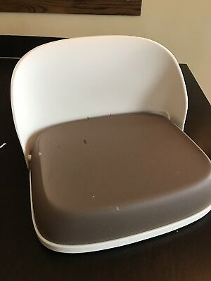 1 OXO tot Perch Booster Seat For Big Kids 3 Years & up Max Weight 70 lbs - Taupe