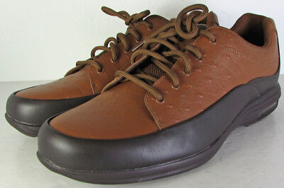 Rockport Mens City Routes Blucher Oxford Shoes, Caramel/Dark Chocolate, US  8.5
