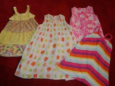 Lot Of 4 Girls Spring Summer Dresses Old Navy Lilly Pulitzer Easter Size 3T 4T