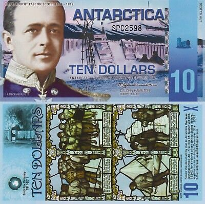 Antarctica 10 Dollars (2011) - Scott of the Antarctic