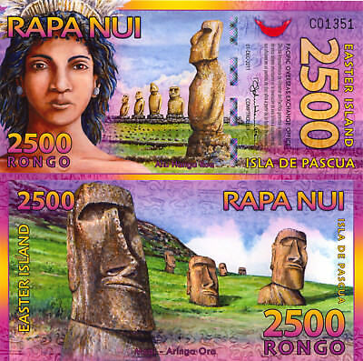 Easter Island 2500 Rongo (2011) - Island Girl/Carvings