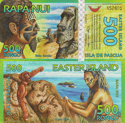 Easter Island 500 Rongo (2012) - Tribesman/Hologram Strip