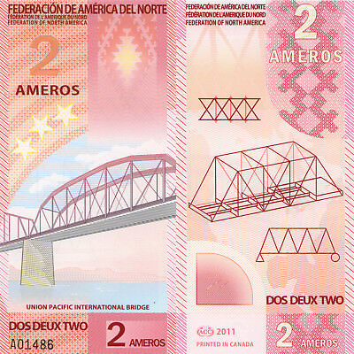 Federation of NA 2 Ameros (2011) - Fantasy Note