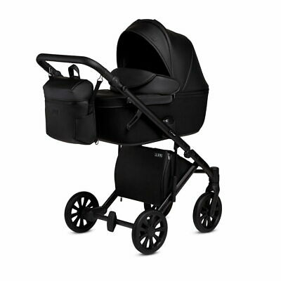 Baby Pram Pushchair Stroller Anex Cross 2.0 Travel System 4in1 Car Seat ISOFIX