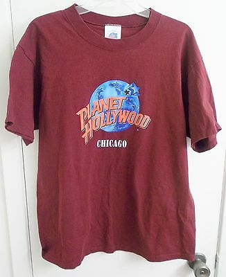 Planet Hollywood Chicago T-Shirt Adult L Large