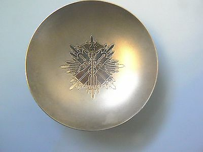 JAPAN EMPIRE WWII ORDER of the GOLDEN KITE SAKE CUP, STERLING,Type I, beautiful