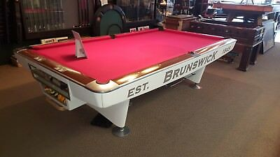 BRUNSWICK GOLD Crown Pool Table The Game Room Store Nj - Pool table scorekeeper