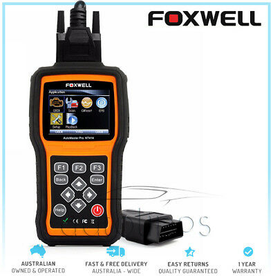 FOXWELL NT414 Pro Engine ABS SRS Transmission EPB Oil Reset Diagnostic Scan Tool