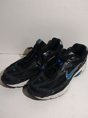 Nike Initiator Men's Black/blue/white Athletic Running Shoes Size 12, 394055 -