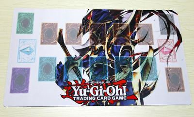 D675# Free Mat Bag Black Luster Soldier Playmat YUGIOH TCG Mat Custom Playmat