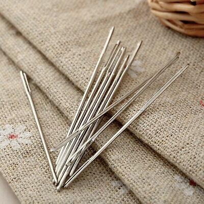 UK STOCK Knitters Wool Needles Large Eye For Threading Darning Sewing Embroidery
