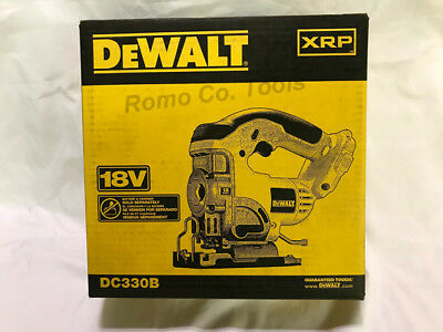 DeWalt DC330B 18V XRP Cordless Jigsaw (Bare Tool Only) New In Retail Box
