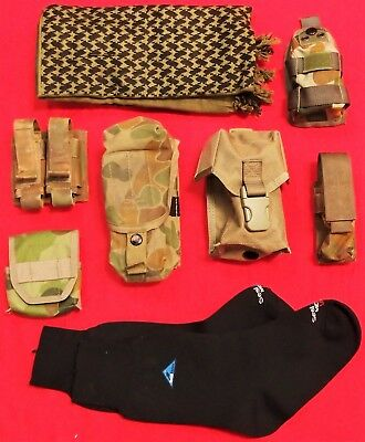 Original Australian Army Uniform Webbing And Surplus Lot