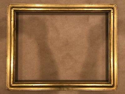 Antique 24x18 Real Newcomb Macklin Gold Leaf Arts & Crafts Picture Frame