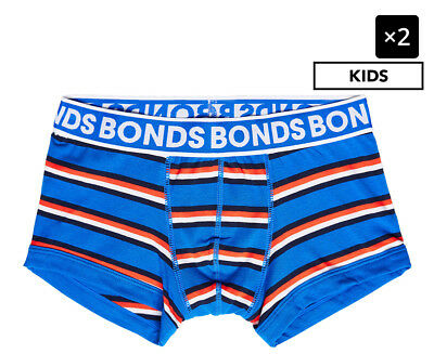2 x Bonds Boys' New Era Trunk - Stripe