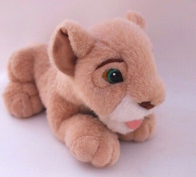 Simbas Pride The Lion King Disney Soft toy with kissing tongue Rare! B2