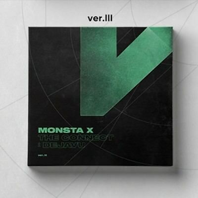 Monsta X-[The Conncet:Dejavu] Ver.III Album CD+Poster+Booklet+PhotoCard+Gift