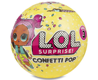LOL Surprise! Confetti Pop Series 3 Assorted - Randomly Selected