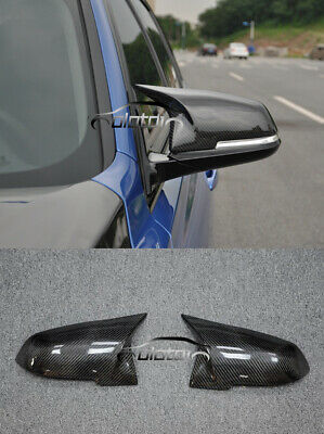 Carbon Fiber Mirror Cover M3 Style Replace Caps For BMW F20 F21 F22 F23 F30 F32