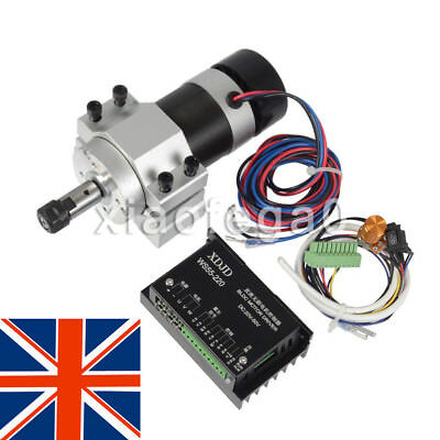 ER11 500W CNC Brushless Spindle Motor Driver Speed Controller For Engraving UK