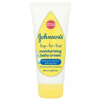 Johnsons Baby Top-To-Toe Moisturising Baby Cream 100ml 1 2 3 6 12 Packs