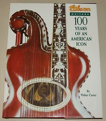 Gibson Guitars 100 Years of an American Icon Guide Story Fotobuch Walter Carter