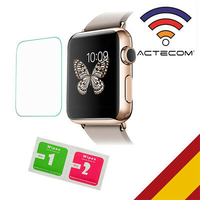 Actecom@ Protector De Pantalla Para Apple Watch 38 Mm Cristal Templado