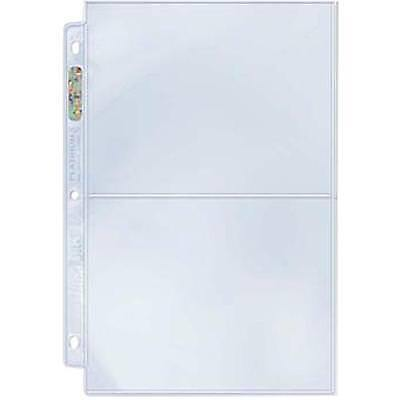 Ultra Pro 2 Pocket 5-By-7-Inch Photos Pages-100 Count