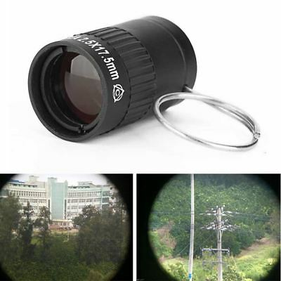 Monocular Mini Telescope 2.5x17.5 Outdoor Sports Pocket Camping Hiking Tools