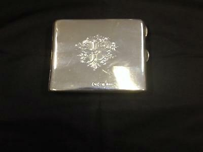 Antique Victorian Silver Purse Type Card Case, Monogrammed, Chester, Circa 1896