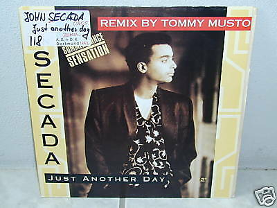 """*****JON SECADA""""JUST ANOTHER DAY-REMIX""""-12""""Inch*****"""