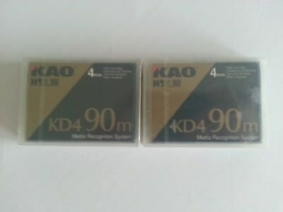 Data Cartridge Daten Kasette KAO SONY IMATION 3M 4 Stück