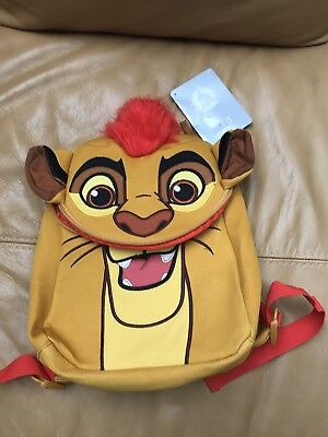 Disney Store Lion Guard Backpack Bnwt