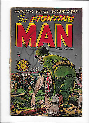"The Fighting Man #3  [1953 Gd-]  ""chickens 'come Home' To Roost"""