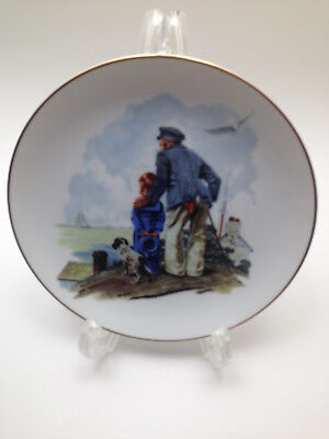Norman Rockwell Plate Sea Looking Out To Sea 1985 The Norman Rockwell Museum