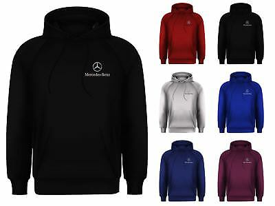 New Mens Mercedes Benz Race Day Competition AMG Merc Garage Hoodie Jumper Top
