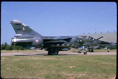 #0442 ORIGINAL AIRCRAFT SLIDE:French Air Force Mirage F-1 661/33-CX  (K64)