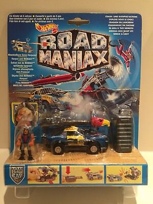 Crash-CAV King Wrex Ovp HotWheels Road Maniax Maniax VS
